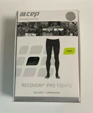 CEP Men Recover + Pro Compression Tights Black Size IV USA Made NIP NIB New