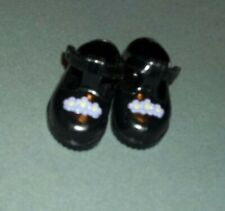 Amazing Ally Baby Doll Shoes.Amazing Ally on bottom Black /Vintage 90s Playmates