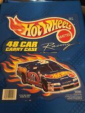 Vintage 1999 Mattel Hot Wheels - 48 Car Carry Case 20020  Box in Blue