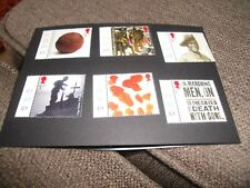 2015 CENTENARY OF WORLD WAR 1 2nd ISSUE 6 STAMPS UNMOUNTED C1 ON TABS MNH STAMPS