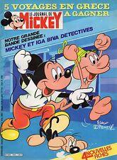 journal de MICKEY n°1624 mickey et iga biva 1983