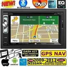 AM/FM CD/DVD GPS NAVIGATION SYSTEM BLUETOOTH USB EQ CAR STEREO RADIO PKG