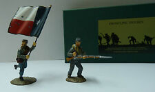 Frontline Figures, Südstaaten Fahnenträger, ACC2, Infantry Standard Parties