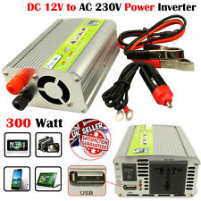 300W Power Inverter Charger 12V DC To AC 230V Converter Car modified Sine Wave