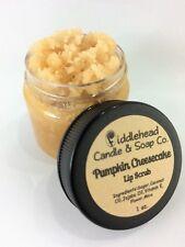 Pumpkin Cheesecake Lip Scrub| Edible Sugar Lip Scrub| Lip Polish