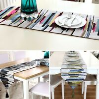 Modern Table Runner Colorful Tablecloth Topper Party Wedding Banquet Decoration