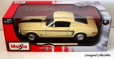 Maisto 1968 FORD MUSTANG GT COBRA JET 1/18 NEW!!