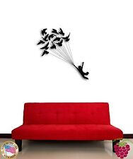 Wall Sticker Birds Flying Dream Cool Romantic Decor  z1339