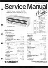 Technics Original Service Manual für SA-Z50 SA Z 50 L