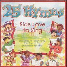 25 Hymns Kids Love to Sing by All Star Children's Chorus (CD, Jun-1999,...479