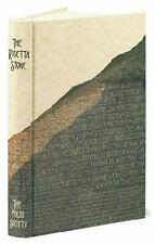 THE ROSETTA STONE ~ ROBERT SOLE Dominique Valbelle W.V. DAVIES ~ FOLIO ~ NEW