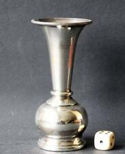 "Vase Silber Punzen139 Gr. Tischvas Silbervase Egypt Ägypten ""S"" Lotus flower"