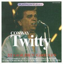 Conway Twitty: 22 Golden Greats - CD (1996)