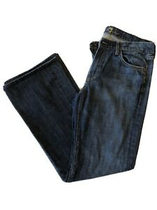 7 For All Mankind Bootcut Amed Wash Mens Jeans 33x32