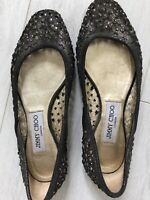 Jimmy Choo Grey Ballerina Size 36 Brand New