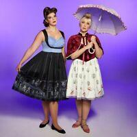 Disney Parks Her Universe Haunted Mansion Tightrope Ballerina Walker Dress 2X