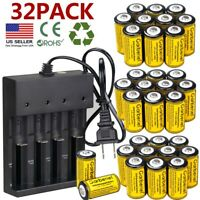 Pack CR123A 3.7V Li-Ion Rechargeable Battery for Netgear Arlo Security Camera US