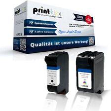2x Office Tintenpatronen für HP DeskJet845C DeskJet845CVR T - Office Light Serie