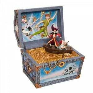 Range Of Disney Traditions Peter Pan and Tinker Bell Figurines Brand New & Boxed