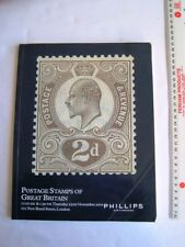 Vintage 2001 Phillips Auctioneers Postage Stamps of Great Britain Catalogue
