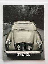 Bristol 406 and Company Letter Original Car Sales Brochure Catalog - 1959 1960