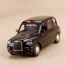 2012 London Taxi Geely Englon TX4 Black Model Car 1:36 12cm Pull Back Doors Open