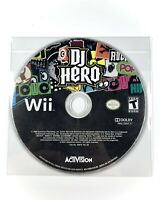 DJ Hero (Nintendo Wii) *GAME DISC ONLY VG / TESTED / WORKING* Free Shipping !!!