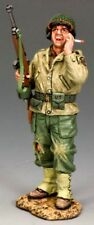 KING & COUNTRY D DAY DD182 U.S. 1ST INFANTRY DIVISION SHOUTING SERGEANT MIB