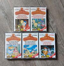 5x Gummibärenbande Folge 4-8 MC Gummibären Disney Hörspiel Sammlung Rarität 80er