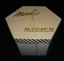 Vintage Marche Hexagonal Hat Box From Rich's Department Store (Charity)