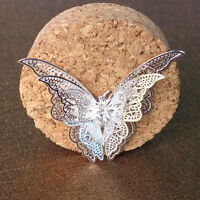 Wholesale Lots Fashion Silver Plated Butterfly Necklace Pendant Jewelry Gift HOT