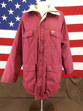 Kent Seed Swingster Coat Jacket Cranberry Color Size Medium