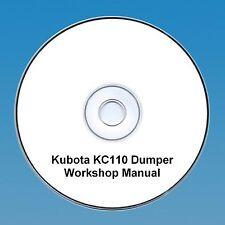 Kubota KC110 Dumper - Workshop Manual.