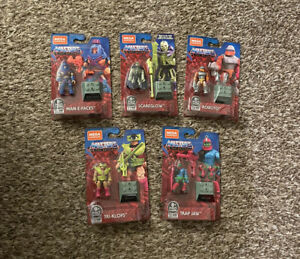 Mega Construx Masters of the Universe Heroes 5 Pack Amazon Exclusive SHIPS NOW