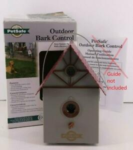 PetSafe Outdoor Durable And Weatherproof Ultrasonic Bark Control