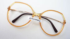 Vintage Brille Oversized 70erJahre Gestell Marke Viennaline cognacfarben size M