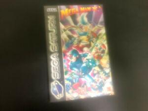 Megaman X3 Sega Saturn
