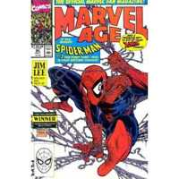 Marvel Age #90 in Very Fine minus condition. Marvel comics [*pa]