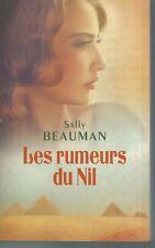 Les Rumeurs du Nil .Sally BEAUMAN.France Loisirs B005