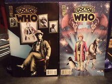 Doctor Who by Grant Morrison (IDW Comics) comic Issues 1 & 2