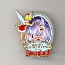 Dlr Disney Santa Tinker Bell Holidays Sleeping Beauty Castle Cast Le 500 Pin Htf