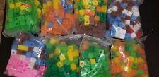 900 Piece Lot Multilink Linking Cubes/ Math Manipulatives/ Counting Blocks Huge