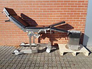 MAQUET OP- Tisch 1140 mit Transporter, Säule und Fernbedienung