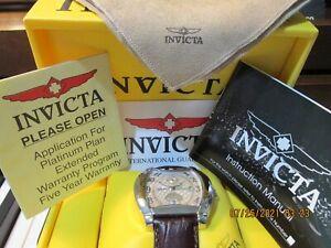 Invicta Watch Model 2176 Objet D'art Swiss Automatic Unisex Adult