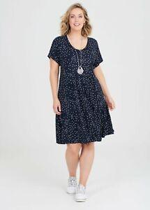 ts Taking Shape Dress Size M Bamboo Stars Style NWT