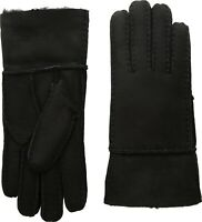 Tundra Boots 240390 Womens Sheepskin Extreme Cold Weather Gloves Black Size S/P