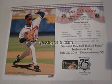 Tom Glavine Atlanta Braves Canceled Joe DiMaggio stamp HOF Induction Card 2014 8
