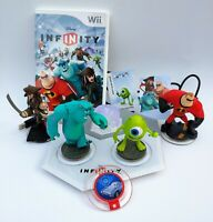 Wii Disney Infinity Starter Pack Kids Game Base & 3 Figures + Bonus Piece