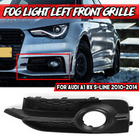 Left Fog Light Lamp Cover Front Grille Grill LH For Audi A1 8X S-LINE 2010-2014