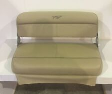 Tidewater 196 DC/ 216 CC Rear Center Cushion Tan W/ Hinges